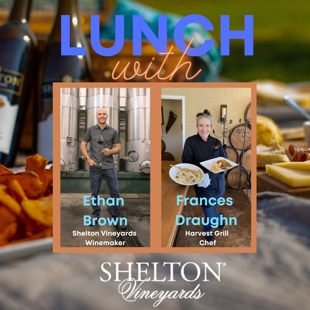 Casual Conversation and Lunch with the Winemaker, Ethan Brown & Chef Frances Draughn